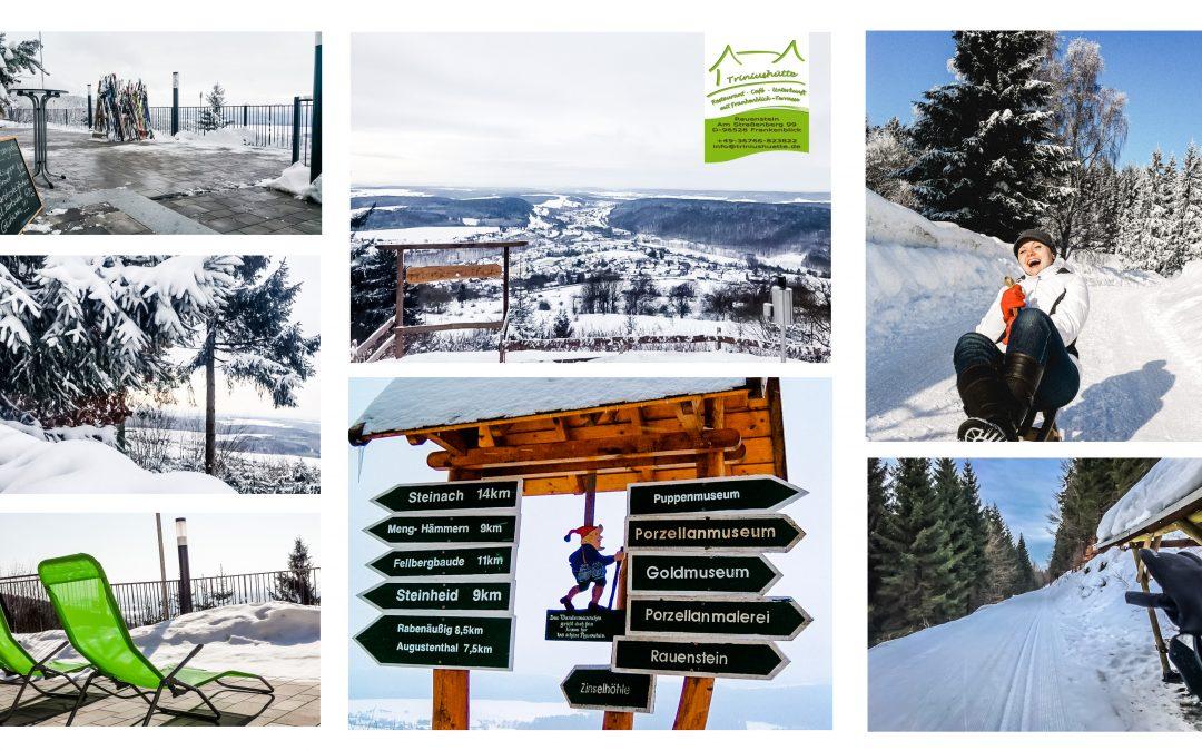 Aktuelle Schnee-, Rodel- und Loipeninfo rund um die Triniushütte